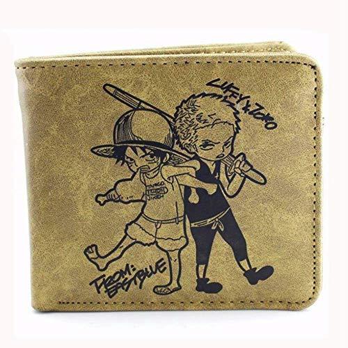 Swvv Cartera One-Piece Dress Chibi Lufei Short Wallet