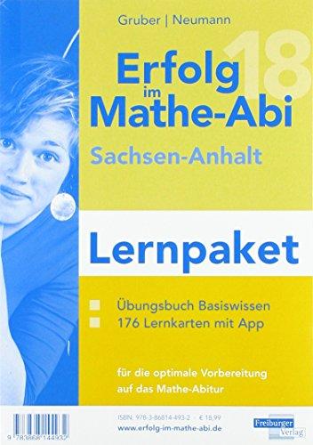 Erfolg im Mathe-Abi 2018 Lernpaket Sachsen-Anhalt: mit der Original Mathe-Mind-Map