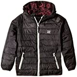 BILLABONG Jungen Jacke Escape Puffer Boys, Smoke Black, 12