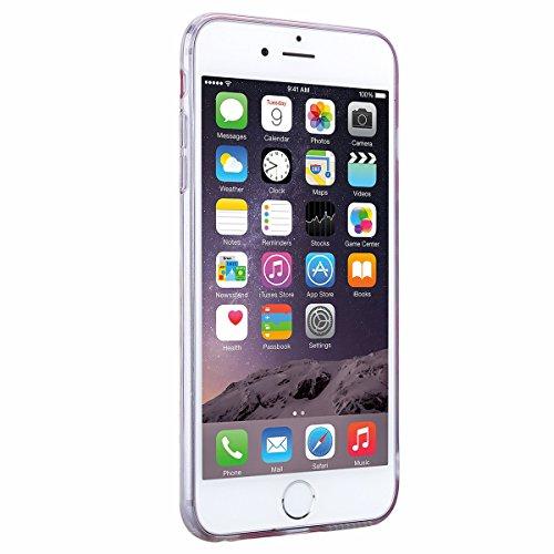 iPhone 6 Plus Hülle iPhone 6S Plus Weich Silikon + Hart PC Schutzhülle HB-Int 3 in 1 Back Hülle Bling Gold Bunte Dreieck Handyhülle Dünn Rundum Bumper Kunststoff Tasche mit TPU Rahmen Beschützer Haut  Bling Rosa