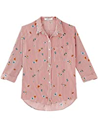 Promod Bluse aus Kreppstoff