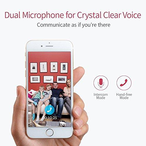 YI Telecamera di Sorveglianza 1080p IP Camera Videocamera WiFi 360° con Sensore Movimento Visione Notturna per iOS/Android (Nera) - 5