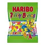 Haribo Jelly Beans, Orsetti, Caramelle Gommose alla Frutta, Dolciumi, Sacchetto, 175g