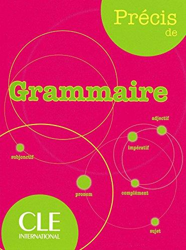Prcis de Grammaire