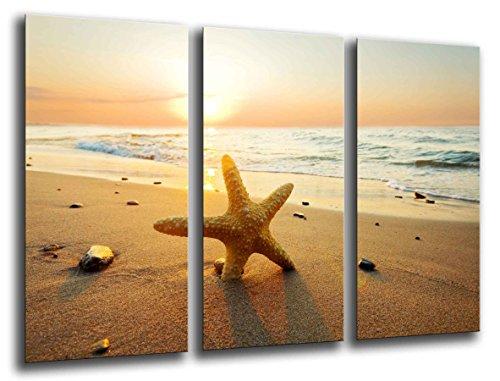 Cuadro Fotográfico Paisaje Playa Puesta de Sol