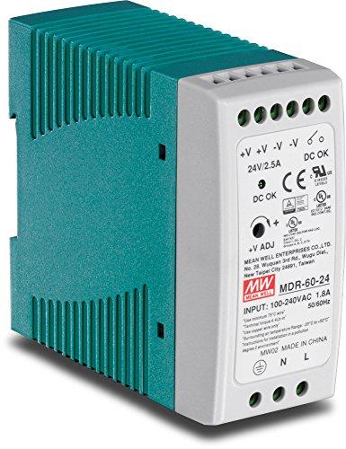 Single Ac Power Supply Switch (TRENDnet 60 W industrielles DIN-Rail-Netzteil mit Einfachausgang, Universeller AC-Eingang, Extremer -20 bis 70 °C (-4 bis 158 °F) Betriebstemperaturbereich, TI-M6024)