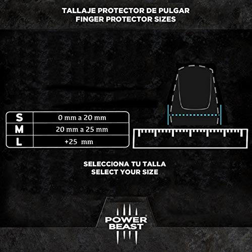 Zoom IMG-3 power beast protezione per pollice