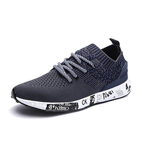 Uomo-Scarpe-da-Corsa-Sport-Gracosy-Scarpe-da-Ginnastica-Sneakers-Respirabile-Mesh-Basse-Sportive-Outdoor-Tennis-Running-Donna-Uomo-Unisex-Adulto-Blu