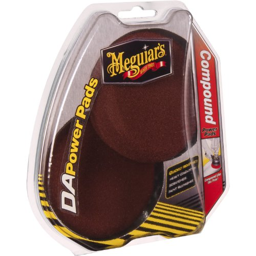 meguiars-da-compound-power-pads-car-polisher-accessories-polishing-pad-red