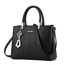 Ladies handbags shoulder bag, BESTOU women handbags designer PU leather ladies bags for Christmas