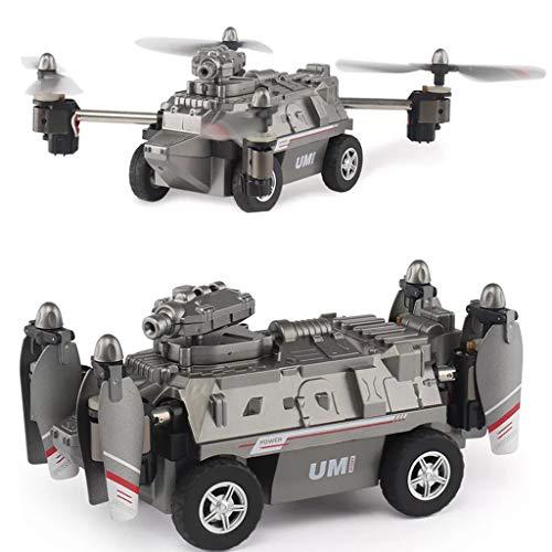 Viesky 1 Satz FY330 2 In 1 Luft Und Land Modus 0.2MP 720 P WiFi FPV Militärhubschrauber Drone Tank Auto Spielzeug 2,4G 4CH RC Quadcopter
