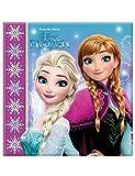 Procos 86757–Serviettes papier Disney La reine des neiges Northern Lights (33x 33cm, 2plis), 20pièces, multicolore