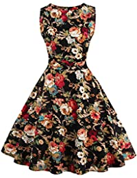Valin M127918D Robe de bal Vintage pin-up 50's Rockabilly robe de soirée cocktail,S-XXXXL