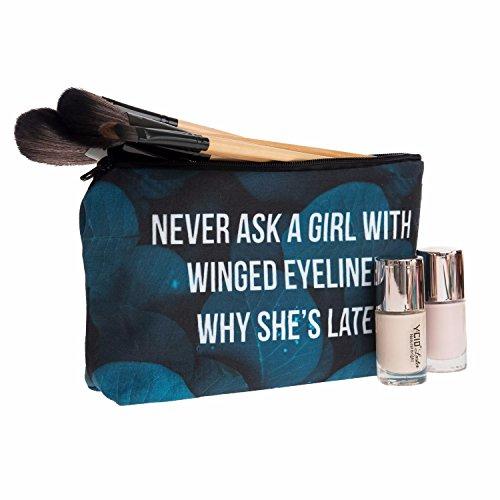 Kukubird Divertimento Nuovo Animale Foto Modello Stampa Make-up Bag Con Sacchetto Di Polvere Di Kukubird WhyShesLate Últimas Colecciones aO6EuHaisi