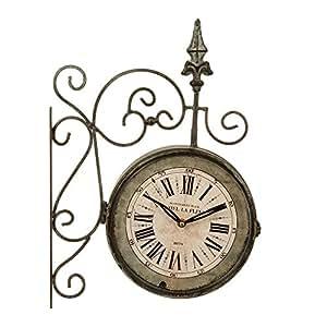 Orologio da parete stile orologio da stazione vintage e for Orologio da stazione