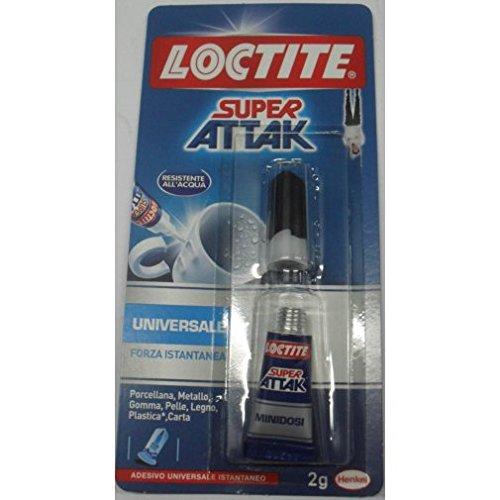 Super Attak Original Loctite resistente allacqua 2 Grammi colla adesivo attack