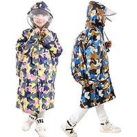 Bambini impermeabile giacca impermeabile con cappuccio per bambini studenti ragazze
