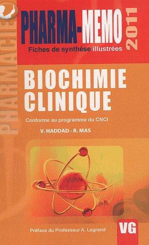 Biochimie clinique par V. Haddad