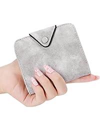 Mujer cartera Billetera bolso de Gran capacidad los titulares de tarjeta pequeño Billetera de corta Tarjeteros