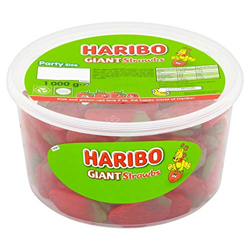 HARIBO Giant Strawberry Bulk Swe...
