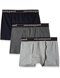 Chromozome Men's Cotton Trunk (Pack of 3) (Colors May Vary)
