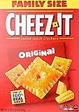 Cheez-it Baked snack crackers - Käse Knabberzeug - 100% echter Käse Familienpackung 595g USA
