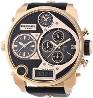 Reloj Diesel DZ7261 de cuarzo para hombre con correa de piel, color negro de Diesel