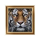 Autone 5D Diamant Tiger Stickerei Gemälde Kreuzstich DIY Kunst Handwerk Wanddekoration