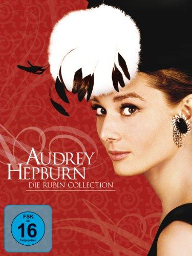 Bild von Audrey Hepburn: Die Rubin Collection (Ein Herz und eine Krone / Sabrina / Krieg und Frieden / Ein süßer Fratz / Frühstück bei Tiffany) [5 DVDs]