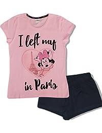 Minnie Disney Women's Ladies Teenager's PJS Pyjama Set Short Pajama