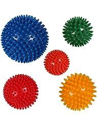 Massageball Massagebälle Einzeln oder als 5er Set Noppenball Igelball