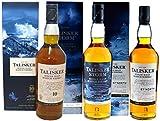 Talisker Collection (Talisker 10 Jahre mit 45,8% vol, Talisker Storm mit 45,8% vol, Talisker 57° North mit 57% vol.) 3x0,7l -10% Rabatt gegenüber dem Einzelkauf