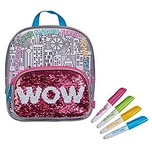Simba 106374266coloreable Swap Backpack Funda para Pintar