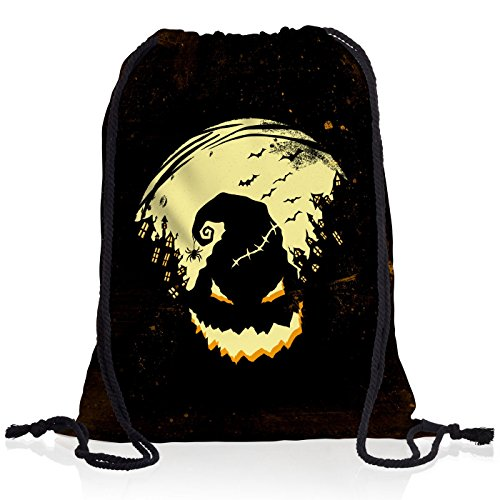 style3 Boogie Man Halloween Rucksack Tasche Turnbeutel Sport Jute Beutel