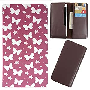 DooDa - For HTC Desire SV PU Leather Designer Fashionable Fancy Case Cover Pouch With Card & Cash Slots & Smooth Inner Velvet