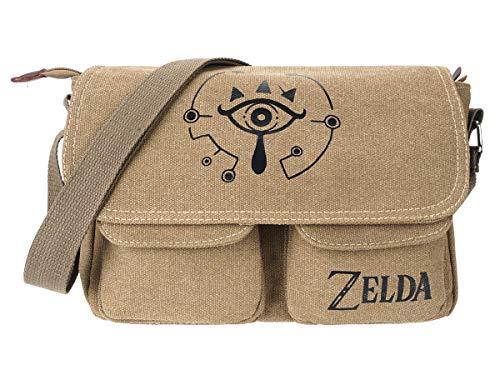 Legend of Zelda Leinen Umhänge Tasche Motiv: Shiekah Auge (Linken Auge Kostüme)