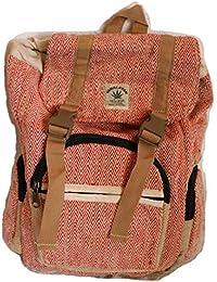 Mochila de fibra de cáñamo / mochila de día de cáñamo / mochila de senderismo de