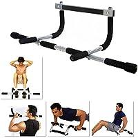Kabalo Barra fija de ejercicio para marco de puerta - Door Gym Exercise Pull Up Bar (Multi-Training Bar) - equipos de gimnasio en casa!