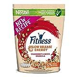 FITNESS Granola Cranberry & Seeds Cereali Croccanti con Avena Integrale, Mirtilli Rossi e Semi di Zucca, 300 g