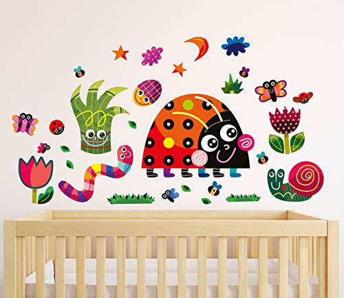 witty-doodle-meadow-ladybird-top-quality-repositionable-stickers-baby-nursery-wall-decals-decor-for-
