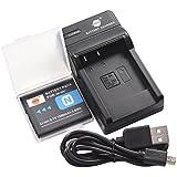 DSTE NP-BN1 Li-ion Batterie et chargeur USB costume pour Sony Cyber-shot DSC-W510 DSC-W515PS DSC-W500 DSC-W520 DSC-W530 DSC-W550 DSC-W560 DSC-W570 DSC-W580 DSC-W610 DSC-W620 DSC-W650