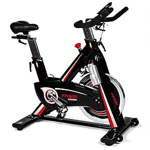 51ORwR1CiEL. SS300 Fassi Fit Bike Pro 24 F con Ricevitore Cardiaco Wifi