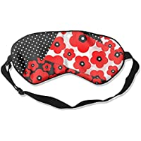Comfortable Sleep Eyes Masks Floral Dots Pattern Sleeping Mask For Travelling, Night Noon Nap, Mediation Or Yoga preisvergleich bei billige-tabletten.eu