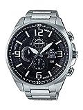 Casio Edifice EFR-555D-1AVUDF (EX343) Analog Black Dial Men's Watch (EFR-555D-1AVUDF (EX343))