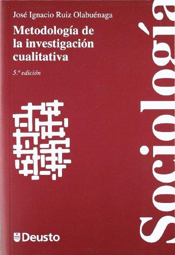 Metodologia de la investigacion cualitativa 5 ed (Ciencias Sociales)