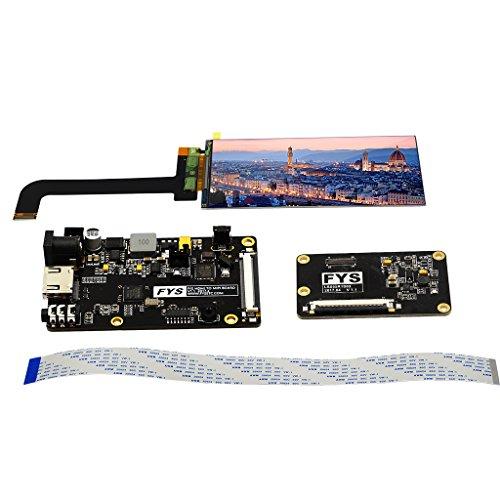 Sharplace 1 Stück 5,5 Zoll Display LCD-Anzeige Display Modul MiPi Schnittstelle Treiberplatine Display Link Board Kabel LS055R1SX04 Größe: 5,5 Zoll Zubehör Kit für 3D-Prinyer Arduino Lcd-kabel-kit
