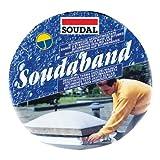 SOUDAL SOUDABAND | Anschlussband Alu - Bitumen | Abmessung: 75mm x 10m