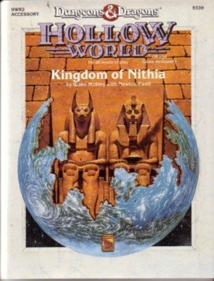 Kingdom of Nithia (Dungeons & Dragons: Hollow World) by Blake Mobley (1991-11-02) par Blake Mobley;Newton Ewell