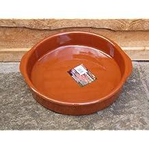 V.Arcos - Cazuela barro red. 32 cm.