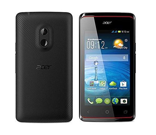 'ACER LIQUID Z2004GB schwarz Smartphone (10,2cm (4Zoll), 800x 480Pixel, 1GHz, Mediatek, mt6572m, 512MB)